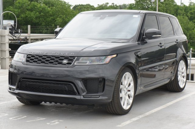 Land Rover Fort Worth >> New 2019 Land Rover Range Rover Sport Supercharged 4 Door
