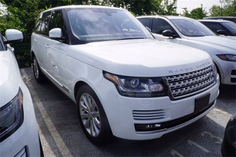 Certified Pre-Owned 2017 Land Rover Range Rover HSE 4 Door