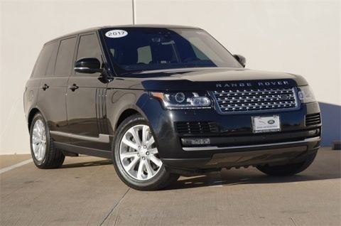 Certified Pre-Owned 2017 Land Rover Range Rover 3.0L V6 Supercharged HSE