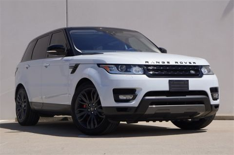 Certified Pre-Owned 2017 Land Rover Range Rover Sport 5.0L V8 Supercharged